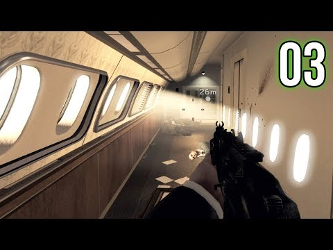 Modern Warfare 3 Campaign - Part 3 - Presidential Plane Hijacking