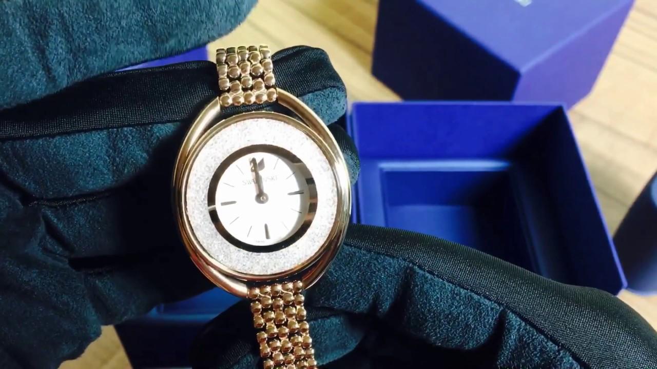 Swarovski watch -Swarovski crystalline watch review - YouTube e77fcd50f