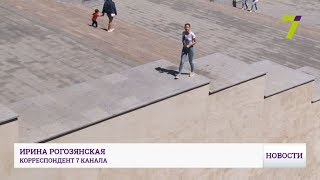 На Потемкинской лестнице небезопасно