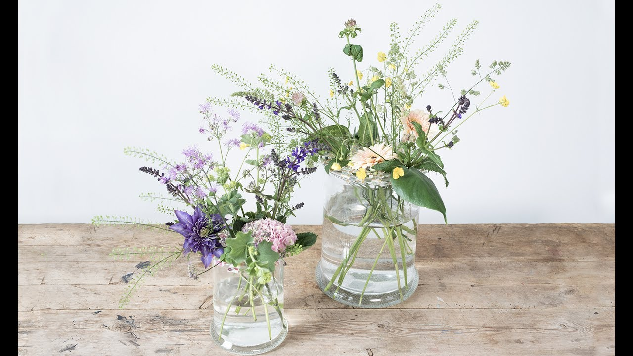 Diy Flower Arrangement In Vase By Sostrene Grene