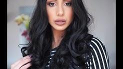 Lace font wig review - www.everydaywigs.com - Ebony Maize Makeup -