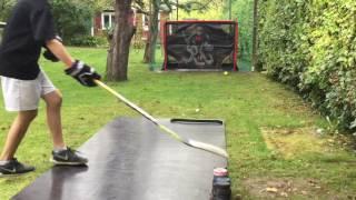 ccm super tacks hockey shot