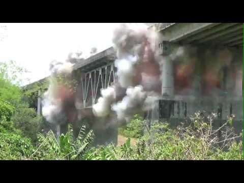 Sabang River Bridge Demolition