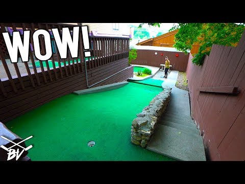 I Am Amazed We Actually Got A Mini Golf Hole In One Here!