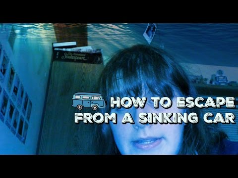 how to escape from a sinking car youtube. Black Bedroom Furniture Sets. Home Design Ideas