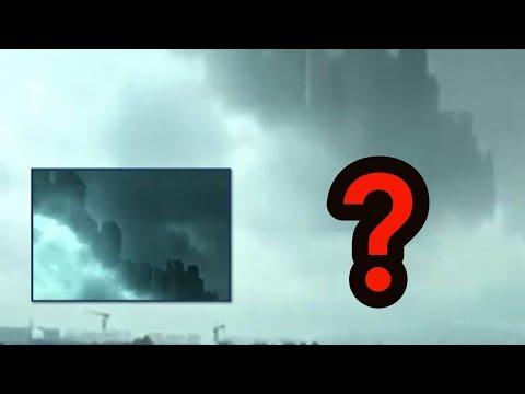 """BIZARNO: Na nebu iznad Kine snimljen """"lebdeći grad""""?!"""