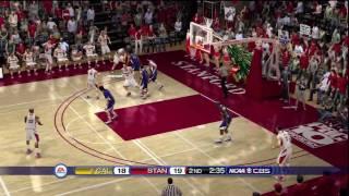 NCAA Basketball 10 (PS3) Cal vs. Stanford SECOND HALF