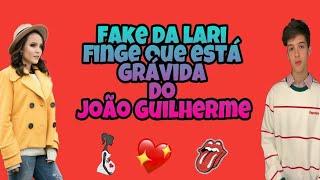 Fake da Larissa manoela  ( fala que está grávida do João Guilherme )