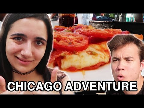 Trying Chicago Deep Dish Pizza For The First Time