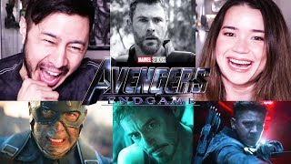 AVENGERS: ENDGAME | Official Trailer Reaction!