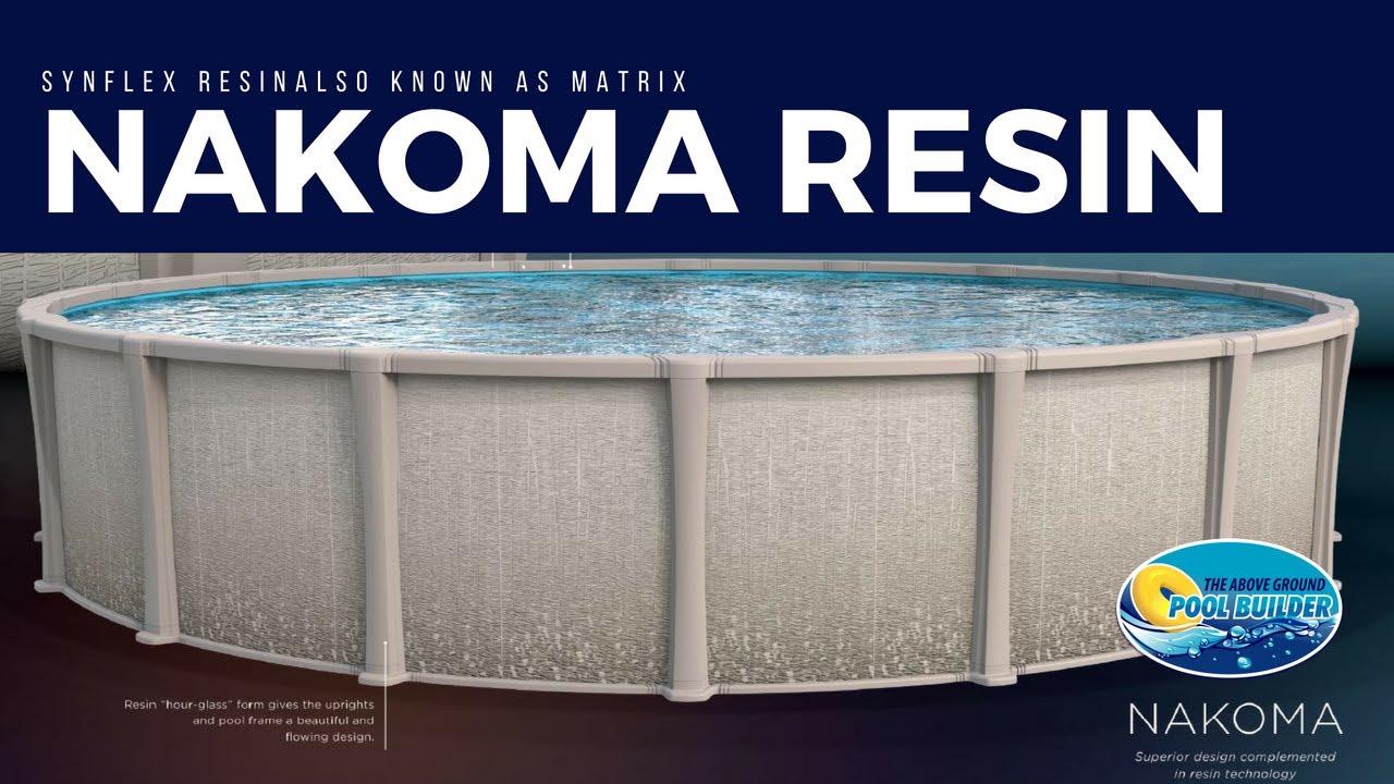 Nakoma Resin Above Ground Pool