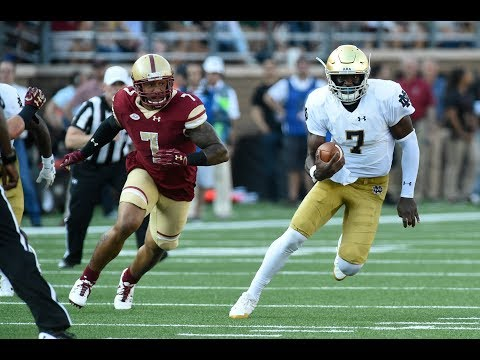 Inside Notre Dame Football - Boston College
