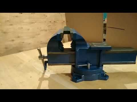 Тиски слесарные с быстрым перемещением подвижной губки ТСБ-125