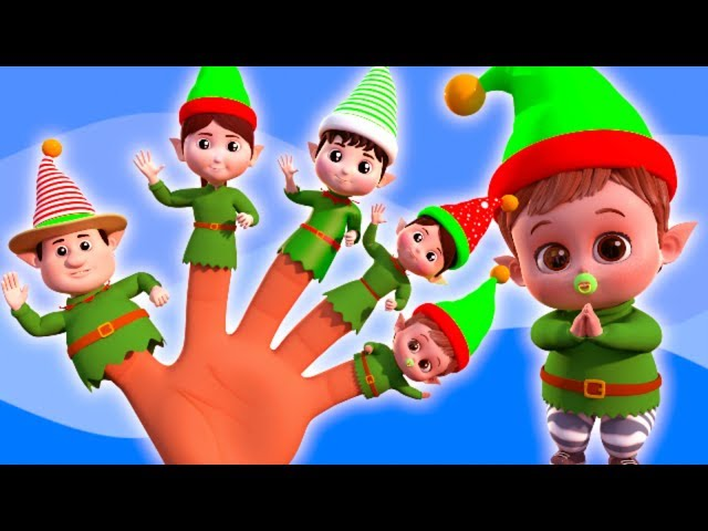 Elves Finger Family | Christmas Songs And Videos For Children | Cartoons by Famees