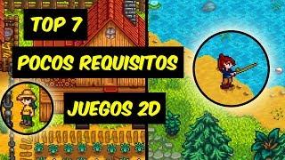 TOP 7 // JUEGOS 2D PARA PC DE POCOS REQUISITOS #3 (MEGA) (MEDIAFIRE)