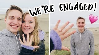 WE'RE ENGAGED! | OUR ENGAGEMENT STORY | ENGAGEMENT ANNOUNCEMENT | PROPOSAL STORYTIME