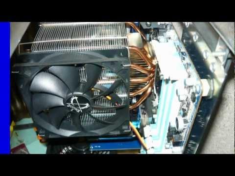 видео: Компьютер в самодельном корпусе.mp4