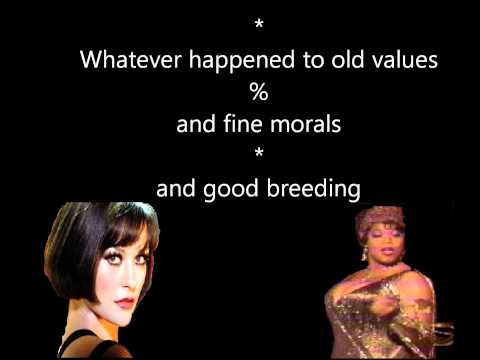 class Chicago karaoke with lyrics