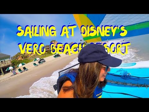 DISNEY'S VERO BEACH RESORT - CATAMARAN SAILING - GOING TO THE BAHAMA'S - DAY 2 OF 3