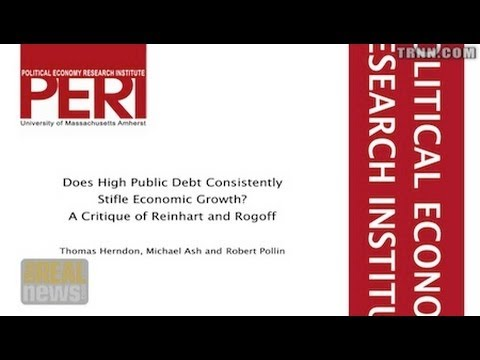 Study Debunking Austerity Research Sparks Wide Reaction