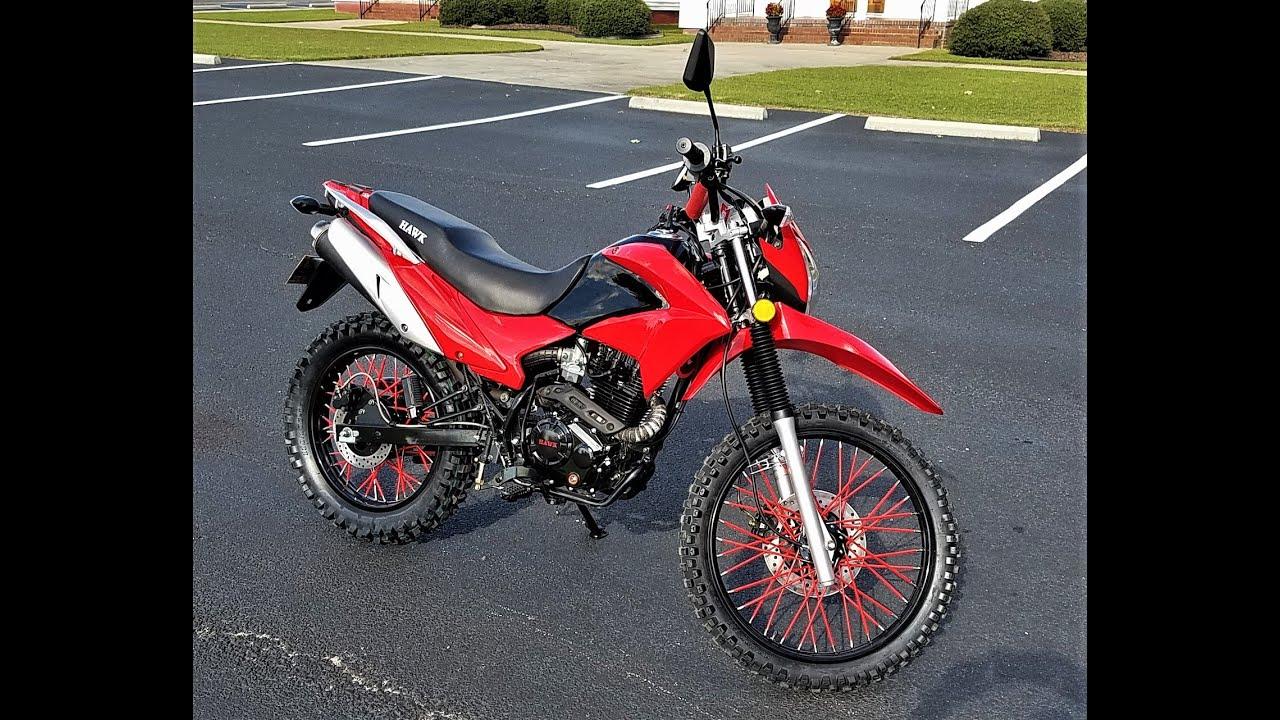 Hawk 250cc Enduro Motorcycle Build