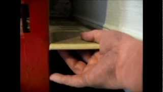 Making a side shelf on the Cokebox cabinet for Honey Babe