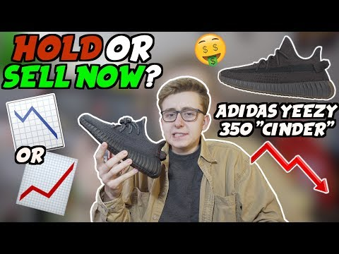 """DO NOT PANIC! Hold Or Sell Now Adidas Yeezy 350 """"Cinder"""" 