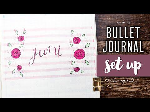 Juni PLAN WITH ME | deutsch | Bullet Journal 2018