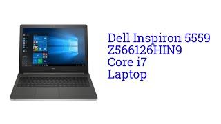 Dell Inspiron 5559 Z566126HIN9 Core i7 Laptop [INDIA]