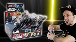 Star Wars FORCE ATTAX Display Unboxing STAR WARS UNIVERSE