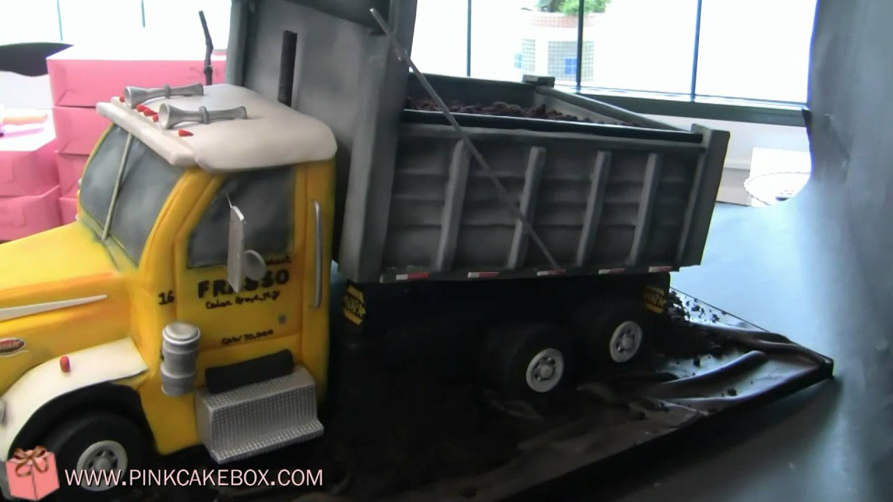 How Do You Make A Dump Truck Cake