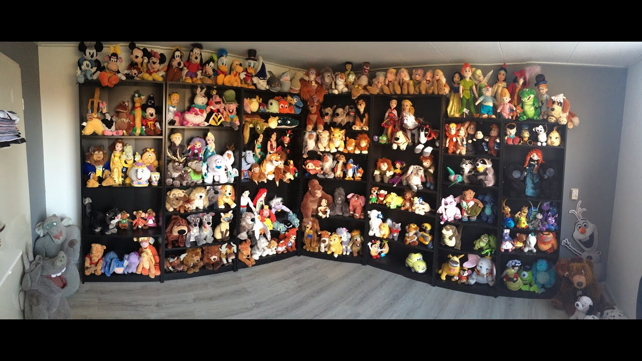 collection store disney plush collection disney room youtube