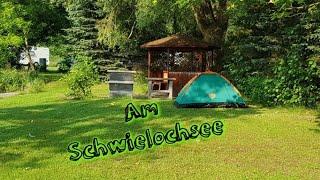 Zelten am wunderschönen Schwielochsee