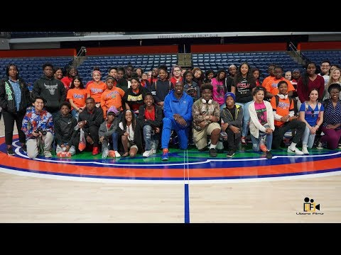 Bullard Family Foundation Bus Tour to UF with Sligh Middle School