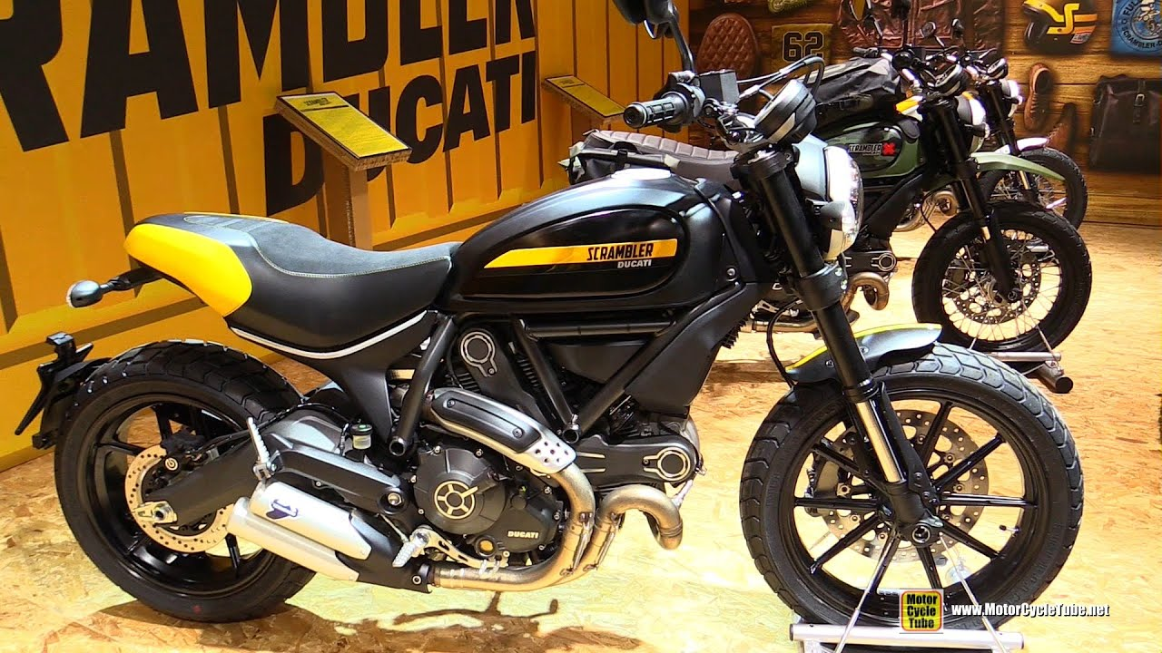 2016 ducati scrambler full throttle walkaround 2015 salon de la moto paris youtube. Black Bedroom Furniture Sets. Home Design Ideas