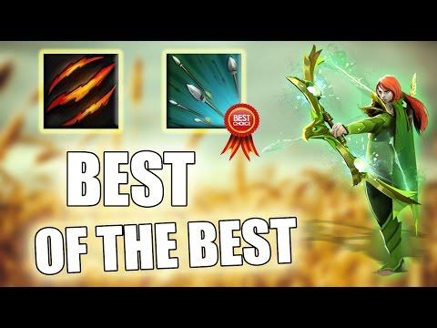 Best Ability Draft: Fury Swipes + Focus Fire + 80% Movement Slow | Dota 2