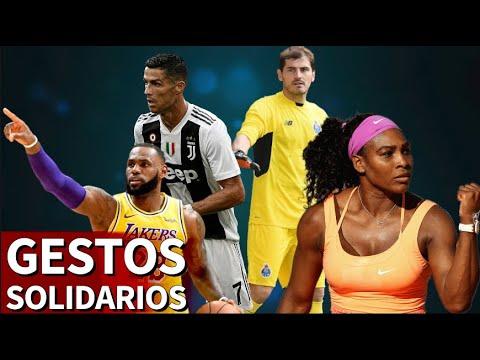 El lado más solidario de los cracks del deporte | Diario As