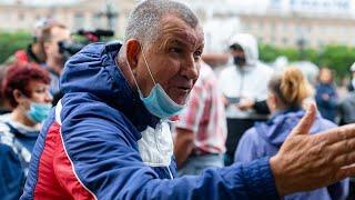 На митинге в Хабаровске работают провокаторы. | Протест в Хабаровске сегодня 5 августа.