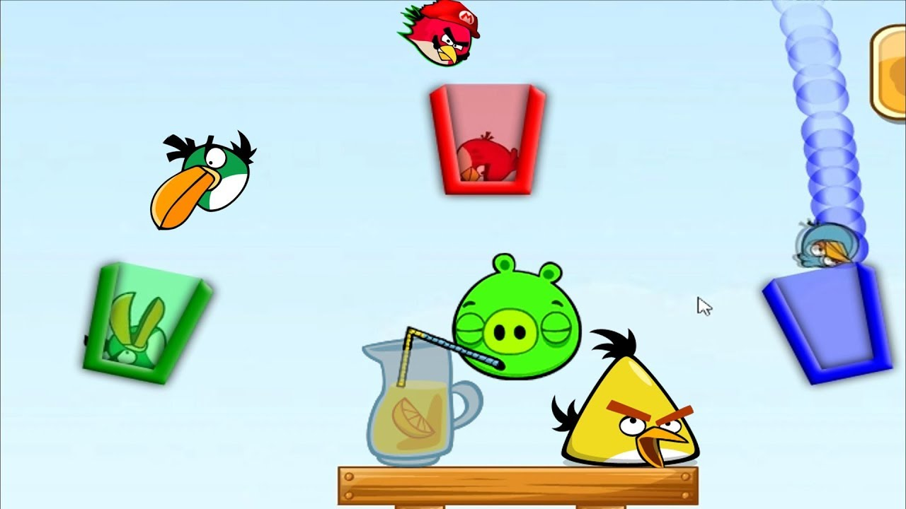 Angry Birds - Drink Water Game - YouTube