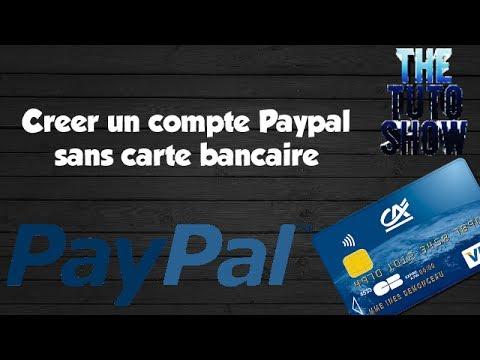 creer un compte paypal sans carte bancaire
