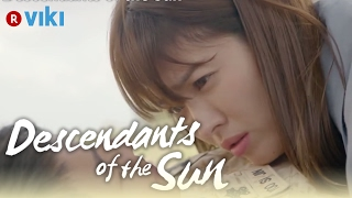 Descendants of the Sun EP3 Song Joong Ki Plays Mine Trick On Song Hye Kyo Eng Sub