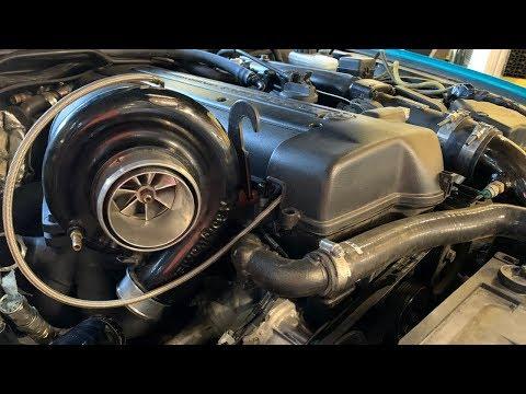 2jz Sc300: Custom Twin Scroll Exhaust Manifold