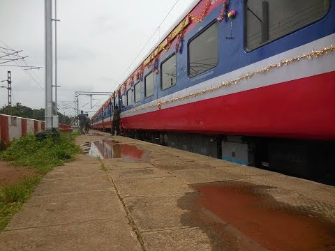 India's first DEMU with AC Chair car -journy from ERS to ALUVA :Indian railways
