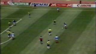 Brazil  2 -- 0  Russia  1994 FIFA World Cup