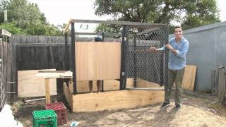 Chook Coop Diy Part 2