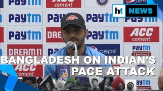 'Good challenge, not a threat': Bangladesh skipper on Indian pace attack