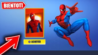 THE SKIN SPIDERMAN ARRIVE ON FORTNITE? (Explanation By VODKAROZ77)