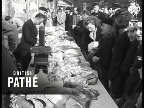 Meat On Sale In Paris (1948)