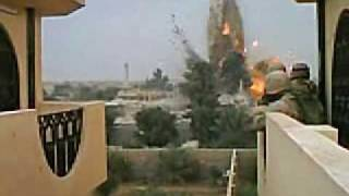Iraq Combat Footage Airstrike Shrapnel Close Call