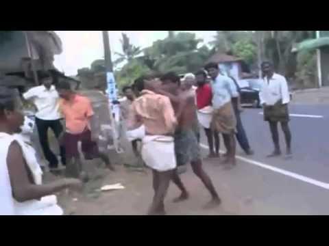 WAPBOM COM   Funny Real  Live Local Fight  Kerala  India